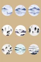 中国水墨风景画