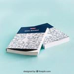 书籍封面样机