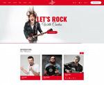 乐队网页模板