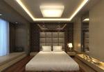 榻榻米卧室模型