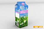 牛奶盒样机