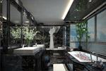 浴室3d模型