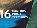 16抽象油漆�y理
