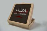比萨饼盒样机