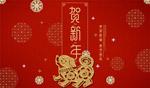 贺新年喜庆海报