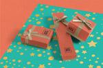 礼物盒包装样机