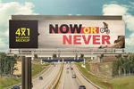 大型广告牌海报样机
