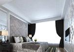 现代家居卧室模型