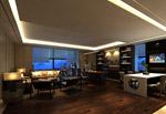 客厅餐厅整模型