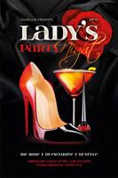 酒吧女士派对海报