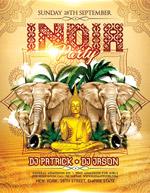 印度主题派对海报