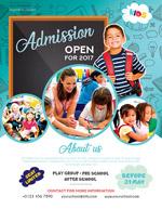 学校开放日海报
