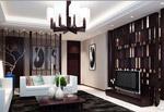 中式风格客厅模型