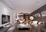 小型客厅3d模型