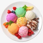 彩色的冰淇淋