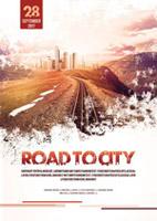 通往城市之路海报