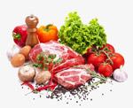 蔬菜肉类食材