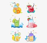 夏季果汁素材
