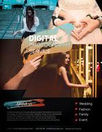 数码摄影服务海报