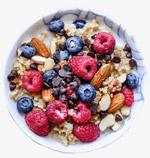 干果水果早餐