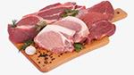 案板上的猪肉