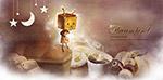 咖啡里加糖的方盒小人