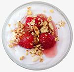 莓果坚果酸奶