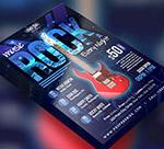 摇滚音乐活动海报