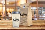 咖啡杯包装袋样机