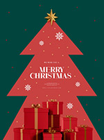 圣诞礼盒海报