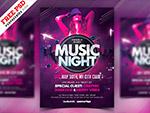 音乐之夜派对海报
