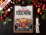 餐厅食品菜单