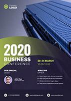2020商务风海报