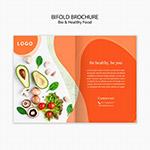 食材宣传册内页
