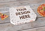 披萨盒样机