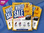 冬季销售传单