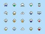 云计算网络图标