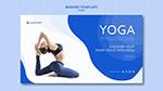 瑜伽健身横幅