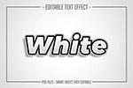 白色粗�w特效字