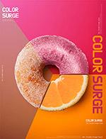 美食甜甜圈海报