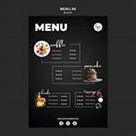 餐厅菜单设计模板