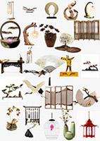 新中式装饰元素