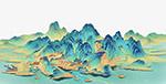 国潮山水元素