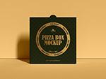 披萨盒包装样机