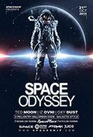 太空漫游科技海报