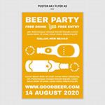 啤酒派对传单