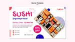 日式寿司海报