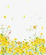 春天鲜花元素