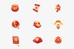 中国风节日图标