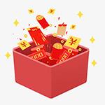 红包礼盒钞票
